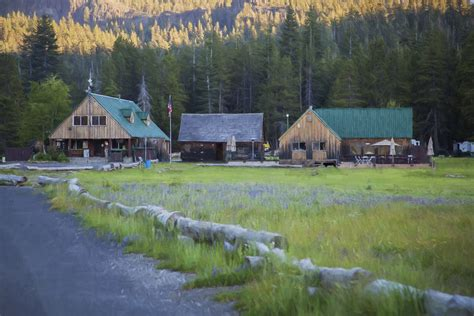Silver Lake Park Cground And Cabins by One More Cing Post Judyholmphotography