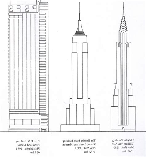 easy to draw architecture bulding easy pencil and in color bulding easy