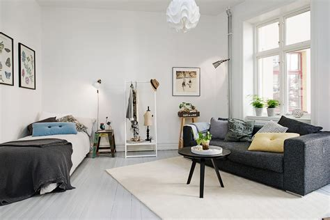 One Room Apartment | tue jun 2 2015 scandinavian home designs by kate