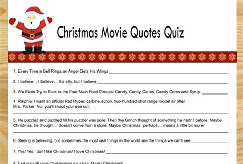 printable christmas movie games funny christmas movie quotes quiz inspiring quotes and