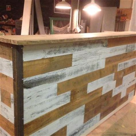 built in reception desk made reception desks by reclaimed woodshop