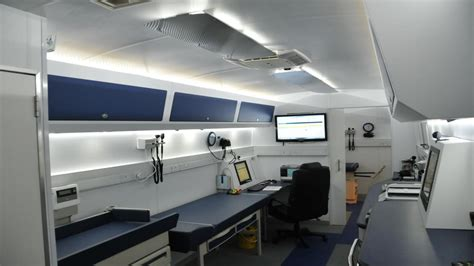 mobile clinic esic launches mobile clinic services in telangana ap