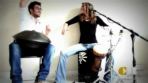 hang drum tutorial youtube cajon box hang drum jamming youtube
