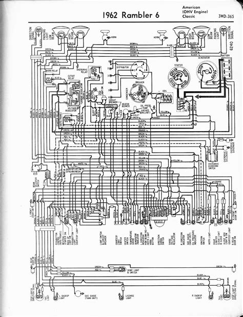 amc rambler american wiring harness 35 wiring diagram