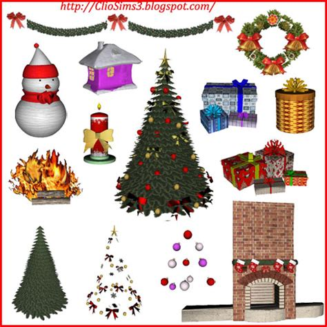 sims 3 christmas decor cc my sims 3 new set by dada
