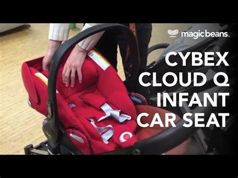 infant car seat ergonomic handle new cybex aton cloud q infant seat abc expo 2014