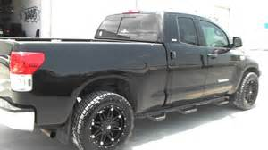 20 Toyota Tundra Wheels Dubsandtires 20 Quot Inch Fuel Hostage Black Road