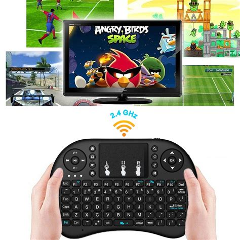 mobile go for andriod rechargeable mini i8 2 4ghz wireless keyboard touchpad for