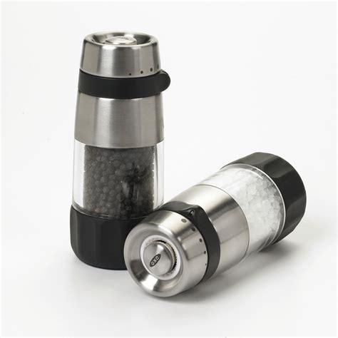 Clear Ster Scraper oxo grips salt pepper grinder set cutleryandmore