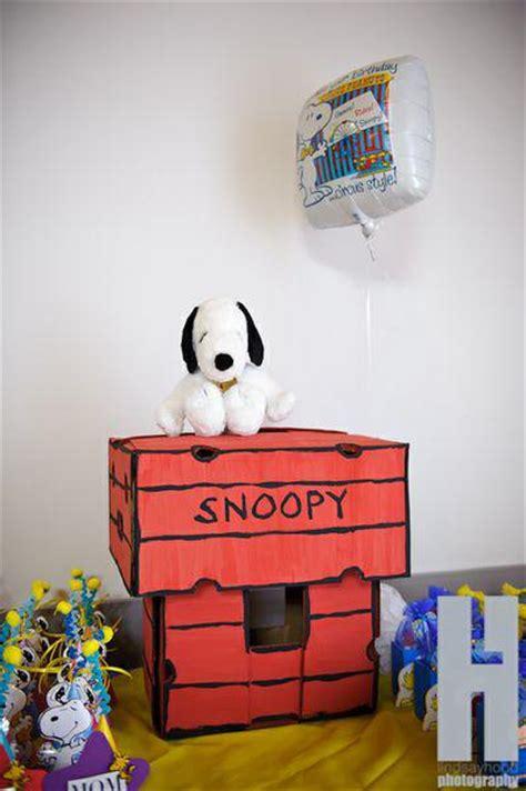 Snoopy Birthday Decorations by Kara S Ideas Snoopy Brown Boy