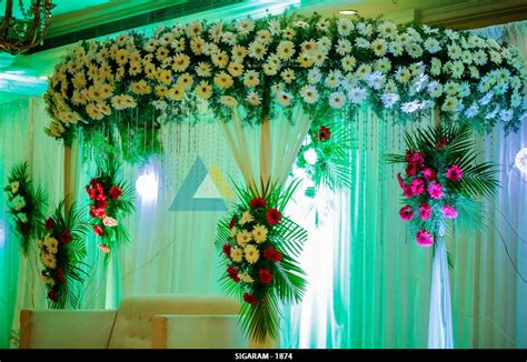 Decoration Reception by Reception Decoration At Surguru Hotel Pondicherry Sigaram