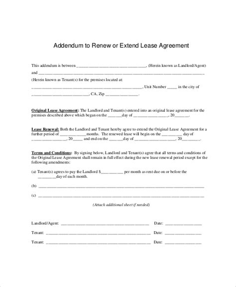 Rent Extension Letter tenancy agreement extension letter sle letter sle