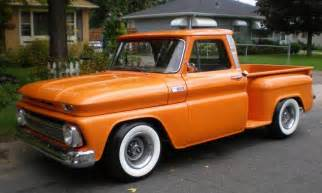 1965 chevy step side custom lowered aucton