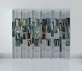 Mdf Bookshelves Random Bookcase Lacquered White By Mdf Italia