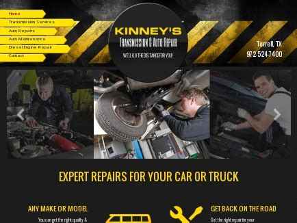Diesel Mechanic Working Conditions by Kinney S Transmission Auto Repair Car Shop Terrell Tx