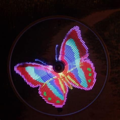 64 led lights diy bike bicycle spoke light waterproof