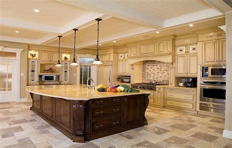 luxury design ideas for a large kitchen big kitchen design ideas thelakehouseva com