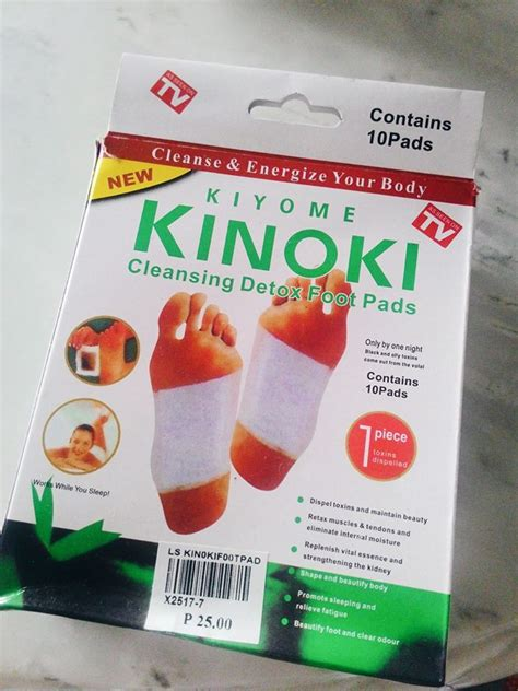 Kiyome Kinoki Cleansing Detox Foot by The Packaging Is Just Normal It Has 10 Pads So You Can