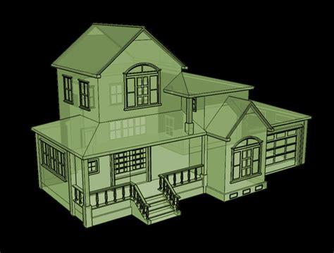 House Design 3d low poly house demo 1 2005