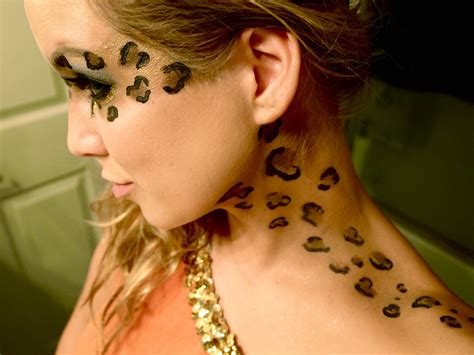 leopard makeup tutorial the longly anticipated cheetah leopard makeup tutorial