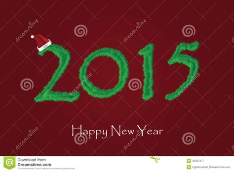 new year card design 2015 new year 2015 card design stock vector image 45237377