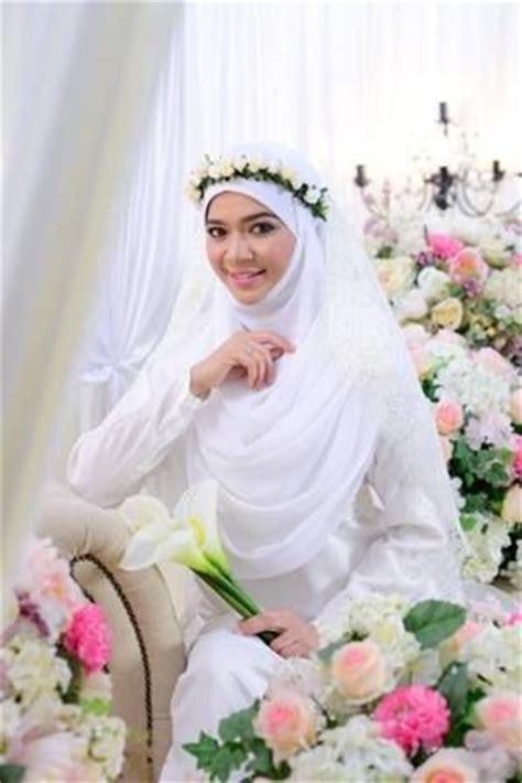 Gamis Floral Dress Floral Abu Abu diana amir wedding dress simple and syar i it