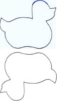 Duck Template by Rubber Duck Template Cut Out Pictures To Pin On