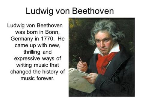 beethoven biography new the amazing ludwig van beethoven ppt download