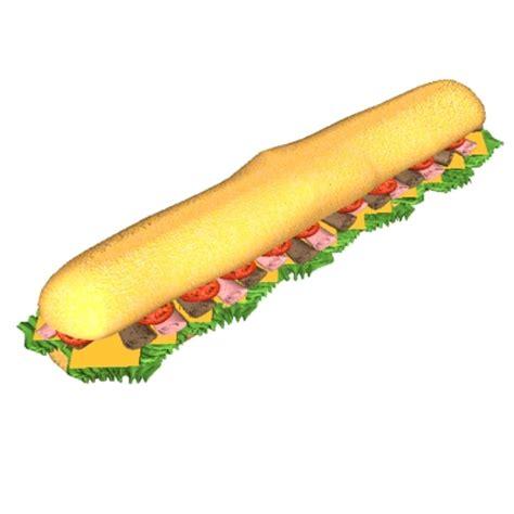Sandwich Clip by Sub Sandwich Clipart Clipart Suggest