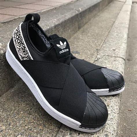 Termurah Sepatu Adidas Superstar Slip On W Black Premium Wanita adidas superstar slip on black footwear white