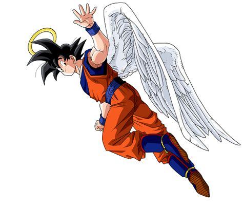 imagenes de goku angel descargar imagenes de goku con alas descargar imagenes