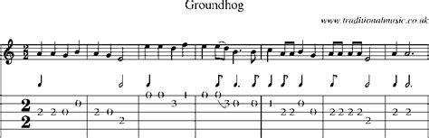 groundhog day bass tab guitar tab and sheet for groundhog