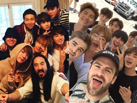 bts chainsmokers bts lines up collaborations with steve aoki halsey
