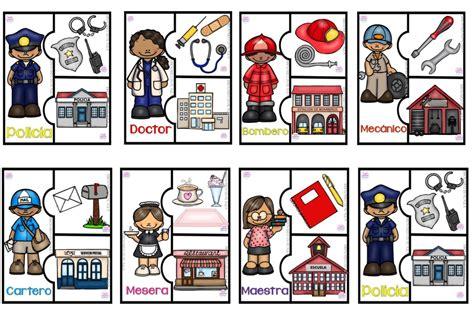 cuentos educativos infantiles oficios y profesiones divertidos y educativos rompecabezas de oficios y