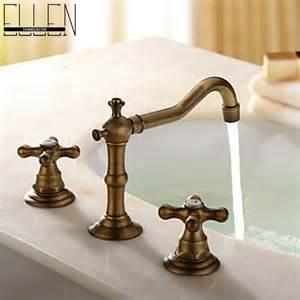 antique bronze bathroom faucets basin mixer handle