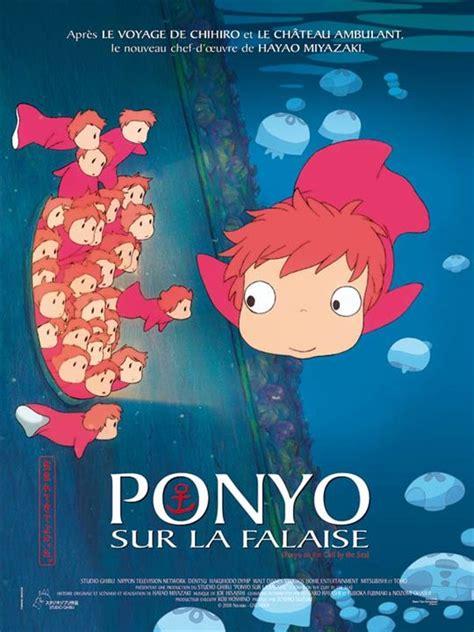 film ghibli vf affiche du film ponyo sur la falaise affiche 2 sur 3