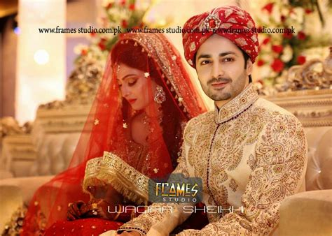 Aiza danish marriage pics of sanam