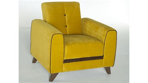 Yellow Sofa Chair by Fabio Lilyum Yellow Sofa Chair Set By Sunset