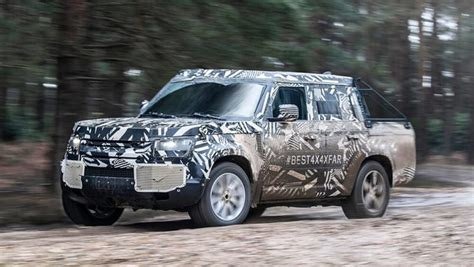 2019 land rover defender ute land rover defender 2020 what we so far car news