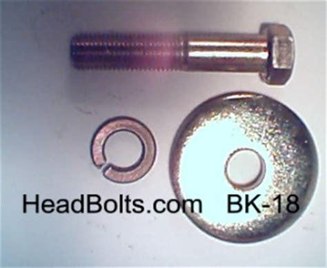 harmonic balancer bolt washer chevy bk 18 #bk 18