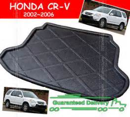 Honda Cr V Rear Cargo Mat Fit For Honda Crv Cr V 2002 2006 Rear Trunk Boot Mat Liner