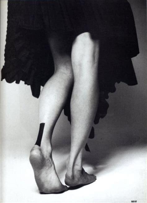 tattoo back heel black ink back heel tattoo for girls
