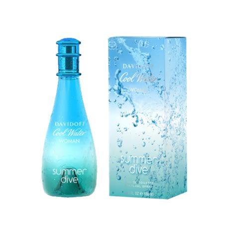 davidoff cool water summer dive davidoff summer dive edt perfume for 100ml