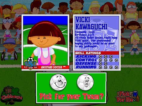 Backyard Baseball Vicki Backyard Baseball 2003 Or 2001 2017 2018 Best Cars Reviews