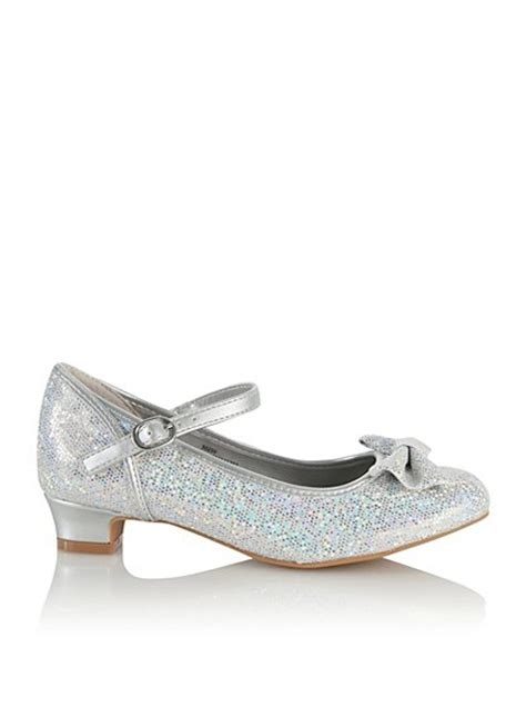 asda george shoes glitter bow shoes george at asda