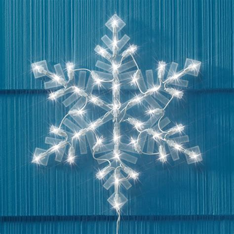 lighted snowflake lighted snowflake decorations miles