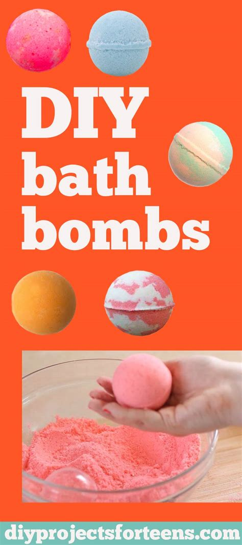 Where To Buy Cheap Home Decor Online by How To Make Diy Lush Bath Bombs Diy Projects For Teens