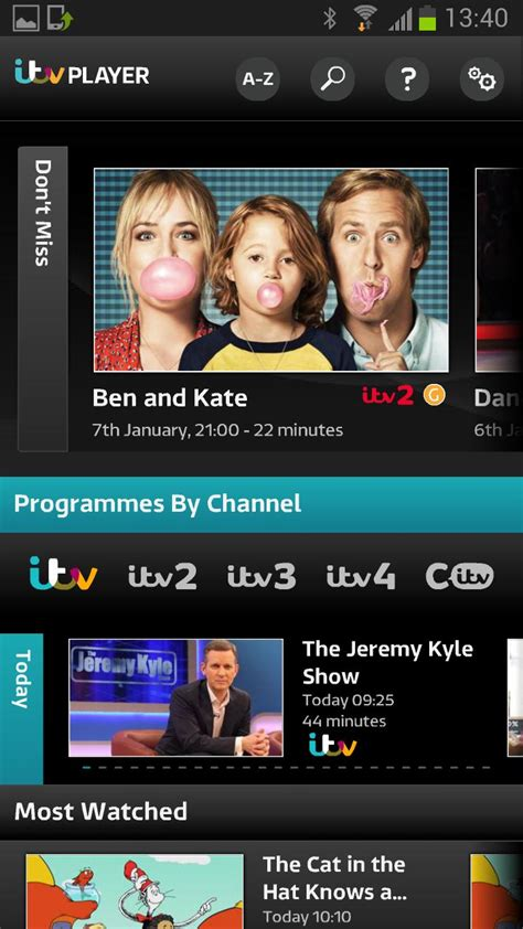 itv player for android updated itv player app only for samsung phones and tablets eurodroid