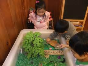 Animals live children learned the names and habitats of animals and