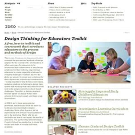 design thinking for educators toolkit teaching and learning pgouveia pearltrees